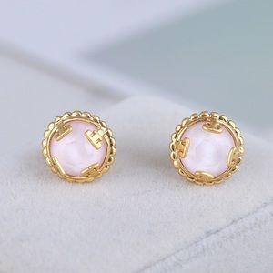 Tory Burch pink earrings